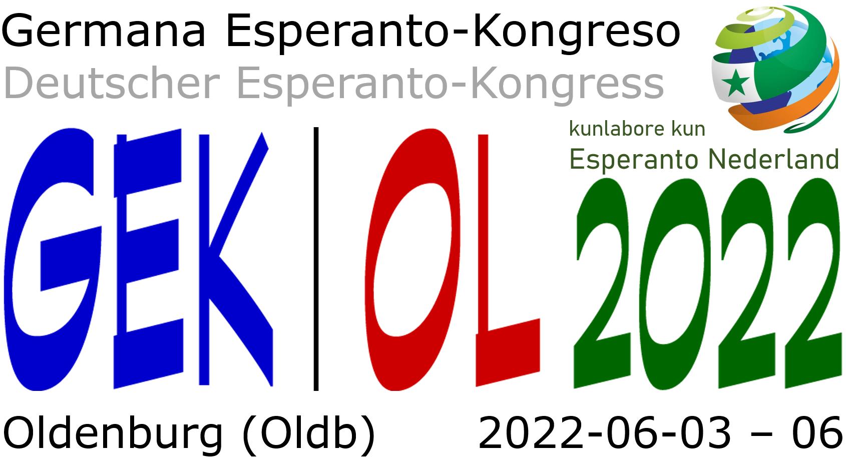 Germana Esperanto-Kongreso Oldenburg 2022