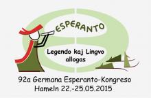 Logo Deutscher Esperanto-Kongress 2015 Hameln